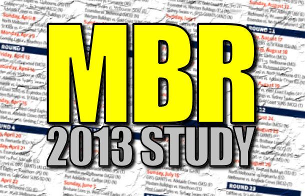 2013 MBR Study