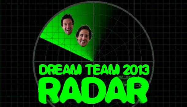 AFL Dream Team 2013 Radar