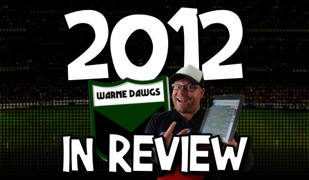 Warne Dawgs 2012 in Review