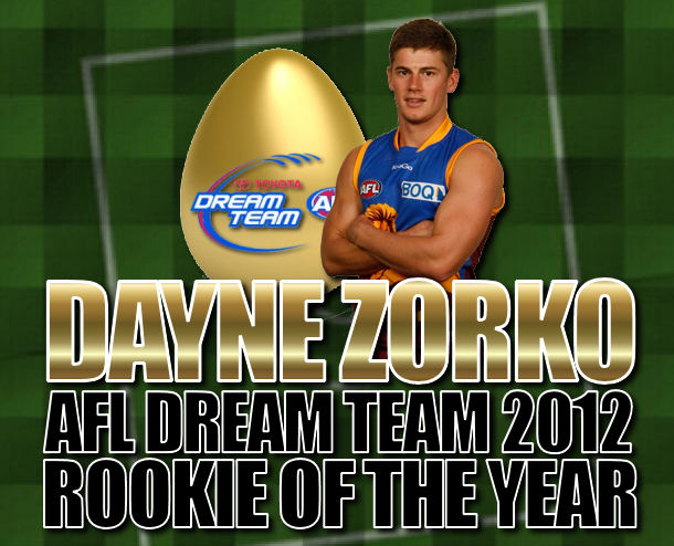 Dayne Zorko wins AFL Dream Team Rookie of the Year