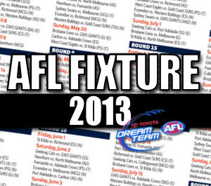 AFL Dream Team look at the 2013 Fixture
