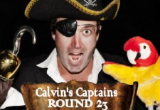 Calvin's Captains – Rd. 23