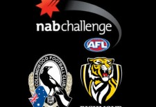 Magpies v Tigers – NAB Challenge (22nd February)