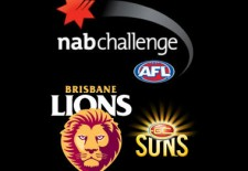 Lions v Suns – NAB Challenge (23rd February)