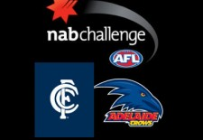 Blues v Crows – NAB Challenge (24th February)