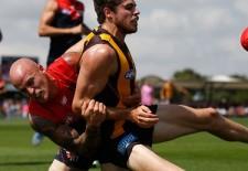 Hawks v Dees practice match report