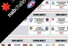 NAB Challenge Fixture 2015