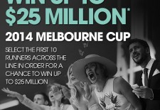 Want to win up to $25 Million this Melbourne Cup?