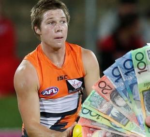 GWS AFL Fantasy Prices 2015
