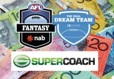 2015 AFL Fantasy, Dream Team and SuperCoach prices