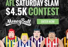 Quick enter the $4.5K Moneyball Saturday Slam