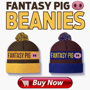 Tom Mitchell Fantasy Pig Beanie